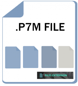 how to open smime p7m